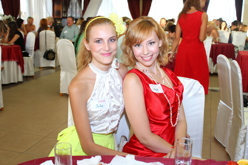 A beautiful woman in Ukraine with our client during our romance tour